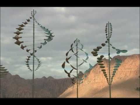 Lyman Whitaker Sculptures kinetic art--I am showing this when we make pinwheels