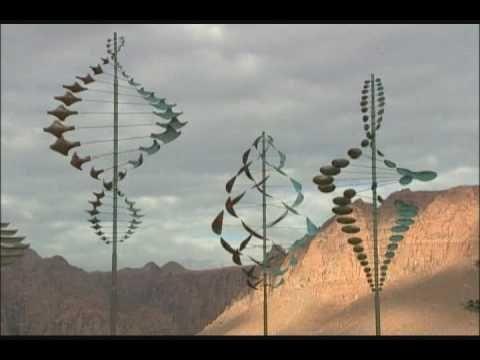 Lyman Whitaker Sculptures kinetic art--I am showing this when we make pinwheels