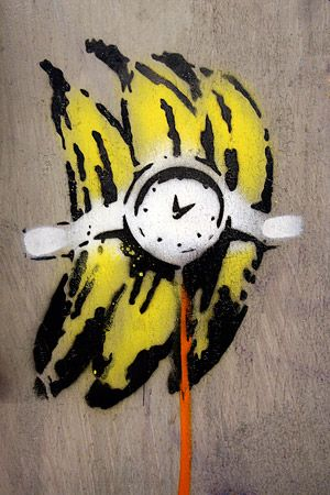 Bananas Bomb by Banksy  #streetart