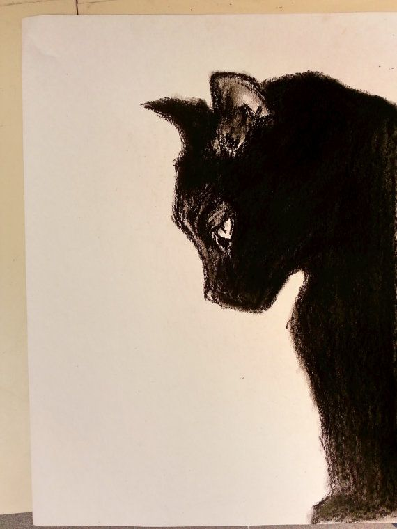 Annie by contessabrooke on Etsy, $25.00  She was our black cat that got lost