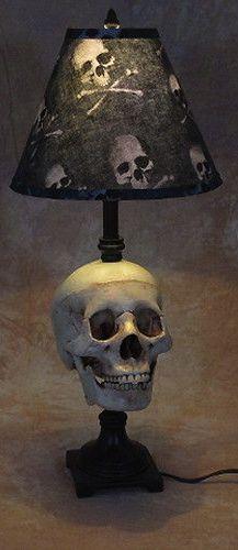 ☆ Skull Desk Lamp ☆