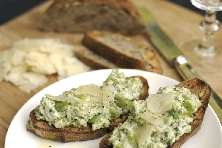 Broad bean spread