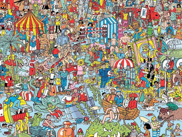 Where is our Waldo in this pic?