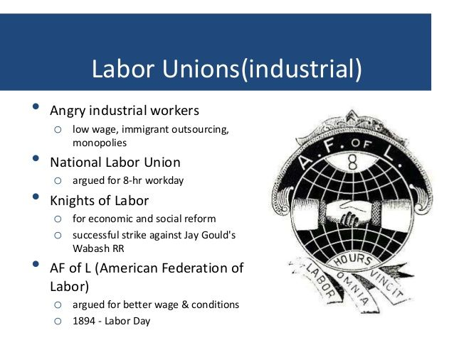 a history of the labor unions of america Labor unions, labor union history, history of labor unions in the united states of america, short history of labor unions in the us, notable eve.