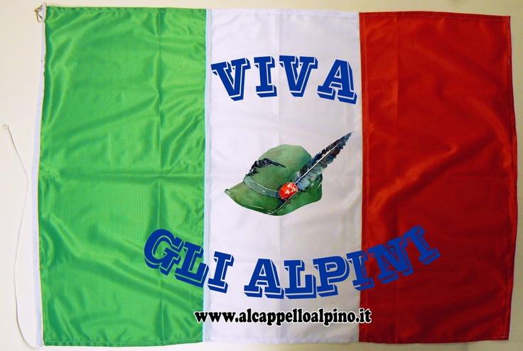 Bandiera Italia W gli Alpini € 39,90
