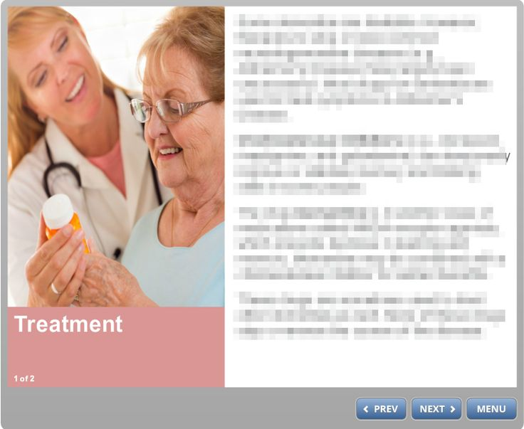Content page from Introduction to Dementia course.