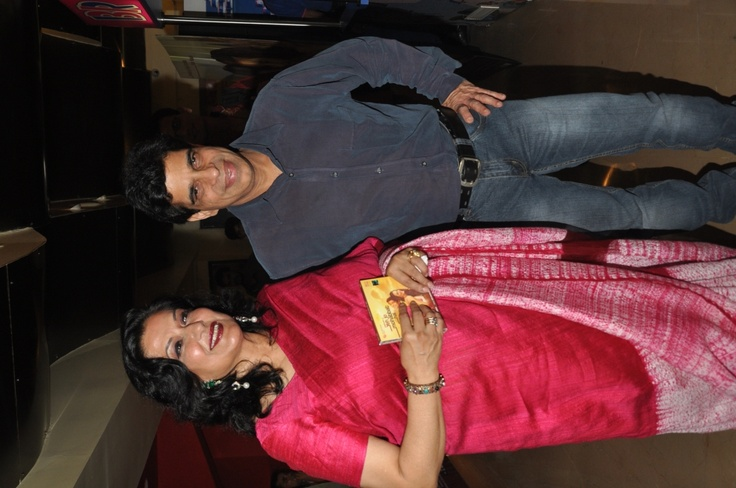 The evergreen Moushumi Chatterjee with Ashim Samanta.