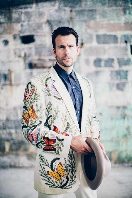 Jamie Custom Tailored suit exact replica of David Allen Coe