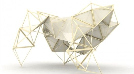 Competition participants, Sasa Djak and Milica Vujovic recently won the community's vote as best Rapidly-Deployable Shade Structure in the DesignByMany