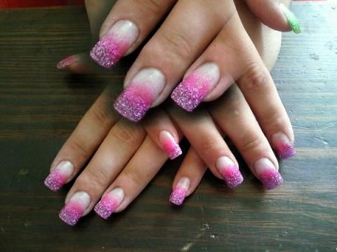 What are the benefits of gel nails over acrylic nails?