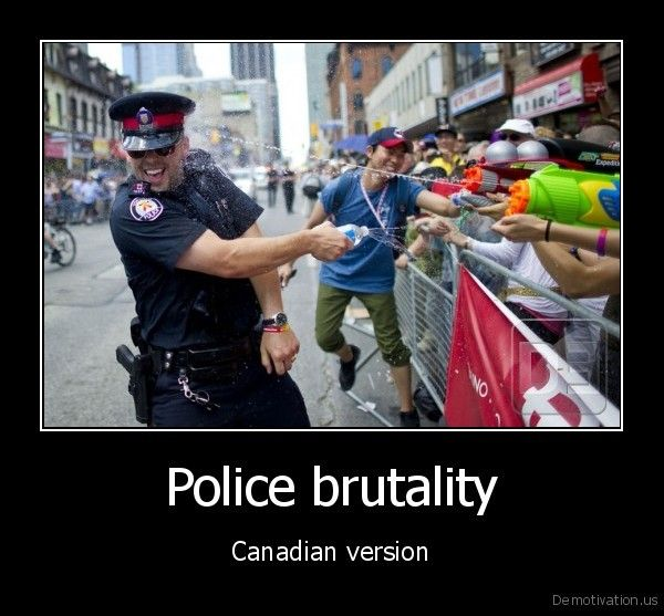 Meanwhile in Canada  These are the only guns we allow police officers to have in Canada! LOL