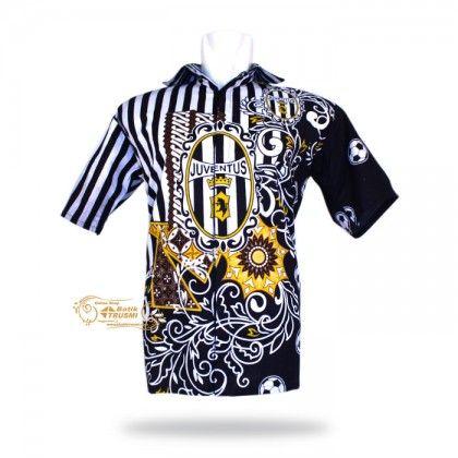 eBatik Hem Batik Indonesia Motif Klub Juventus