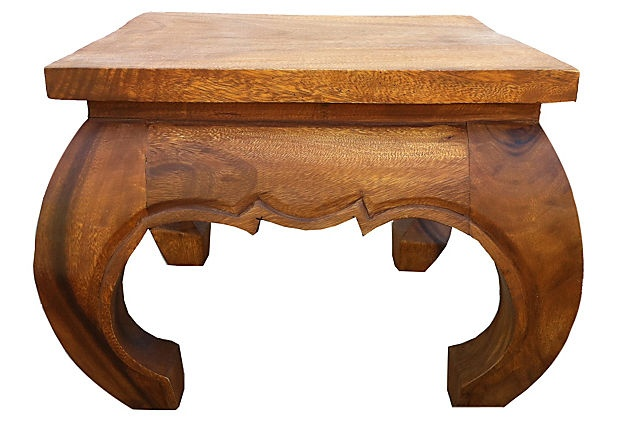 Opium Table V by Asian Art Imports. Wally Stryk owner - made of reclaimedmango wood