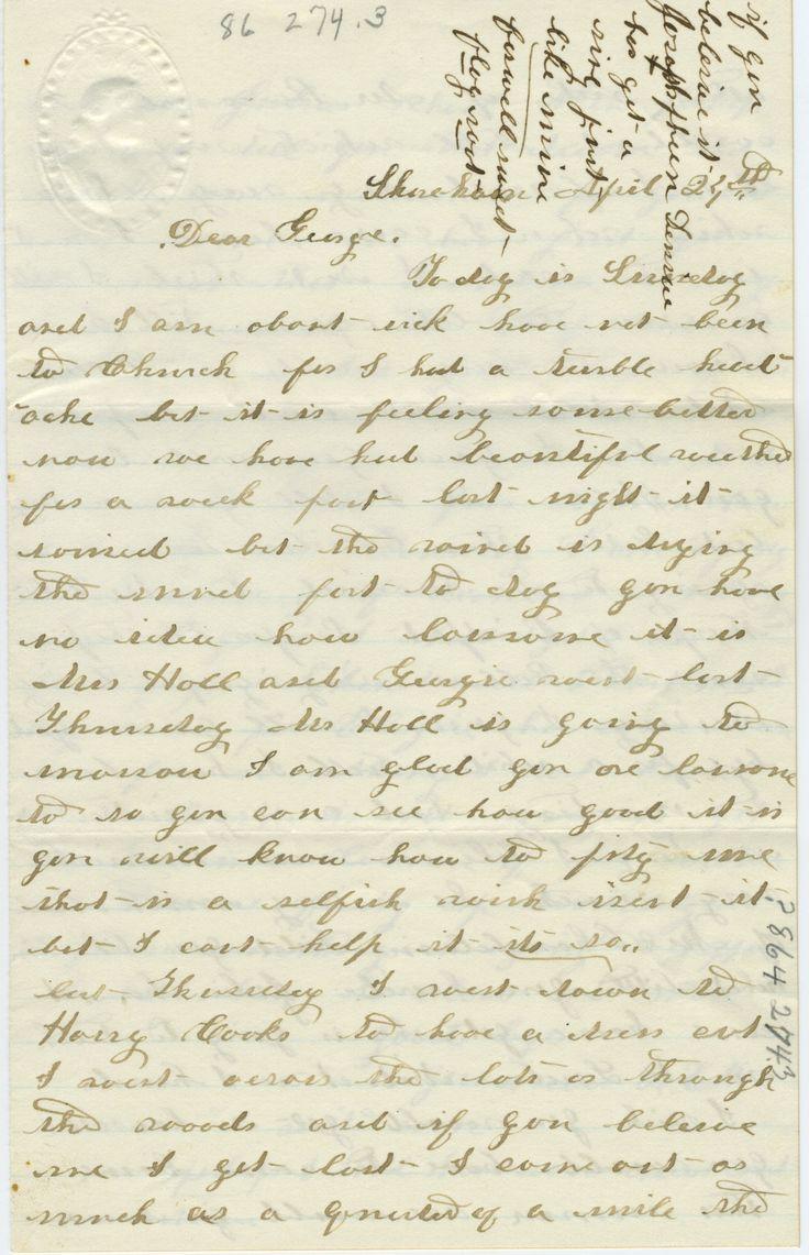 107 best Civil War Letters images on Pinterest