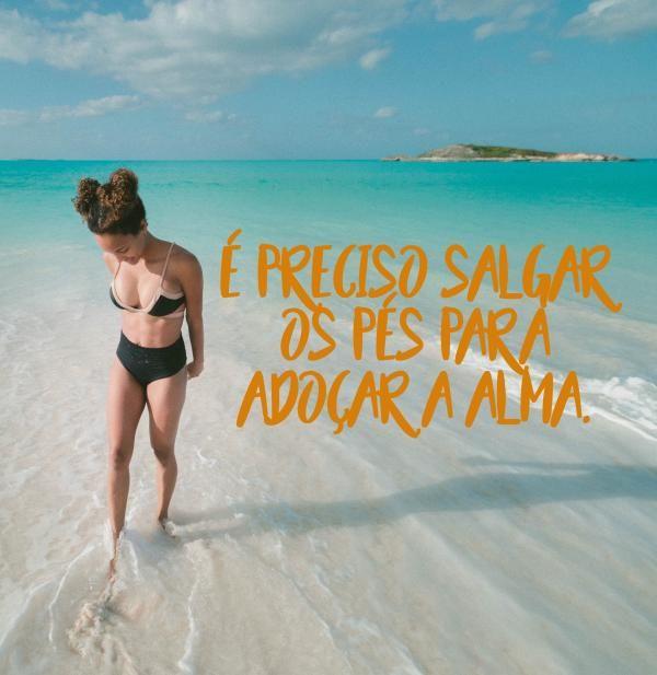 Legendas para fotos na praia sozinha: trechos de músicas e ideias lindas - EExpoNews