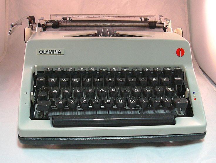 olympia compact 3 typewriter manual