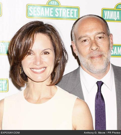 Elizabeth Vargas and Marc Cohn  hair style