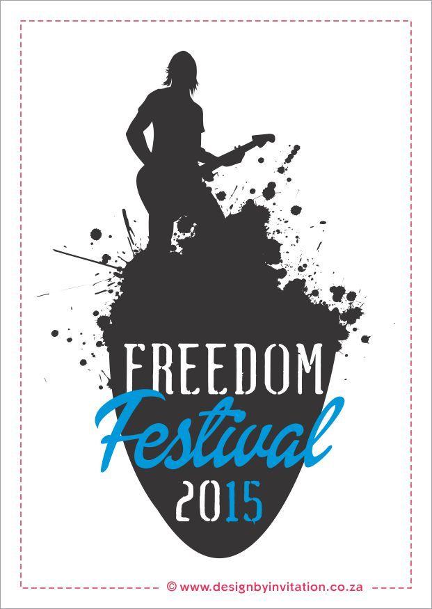 Official Freedom Festival Logo © www.designbyinvitation.co.za