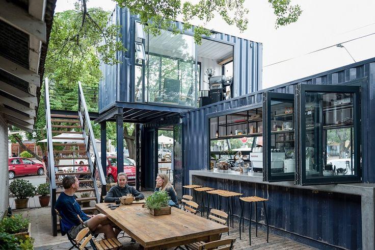Chiêm ngưỡng những mẫu thiết kế quán cafe container độc đáo và mới lạ