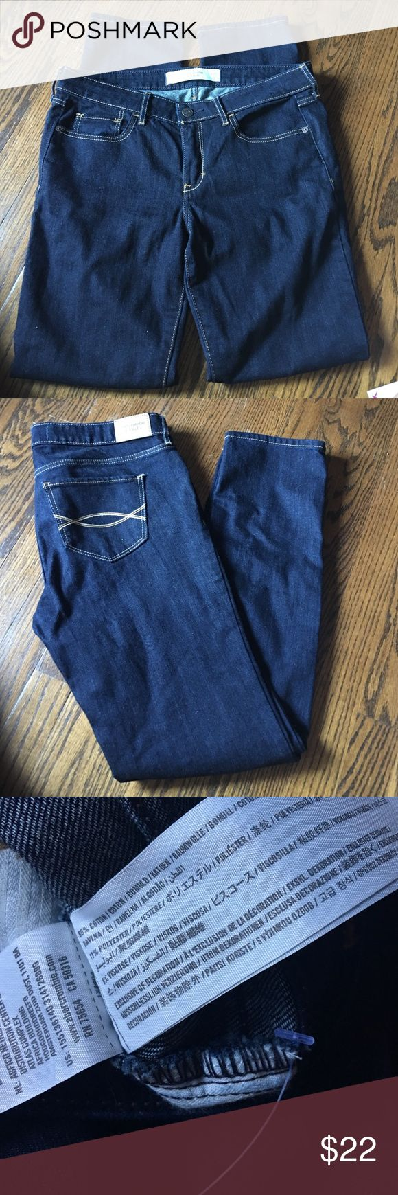 Abercrombie jeans Brand new. Purchased short to fit at a perfect ankle length. Just never wore them Abercrombie & Fitch Jeans Straight Leg