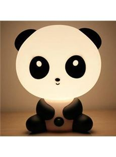 Cute Panda Shape Energy Saving Night Lamp