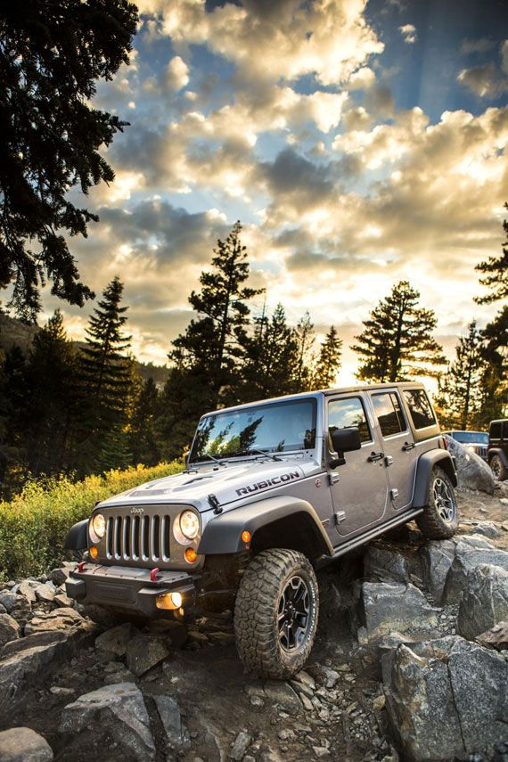 2013 Jeep Wrangler Rubicon 10th Anniversary Edition. Hummeresque Rubicon, have yet to see the inside of this new version.