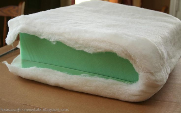 Reasons for Chocolate: Couch Make Over! Revamp your squished down couch cushions!