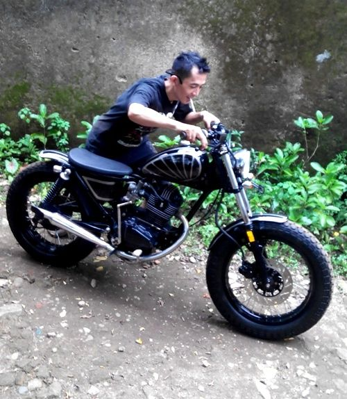 Victorious Custom Works: Honda GL Pro _ Bratstyle