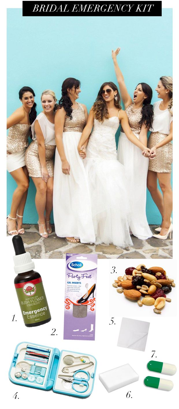 Bridal Emergency Kit_Must haves for a wedding day