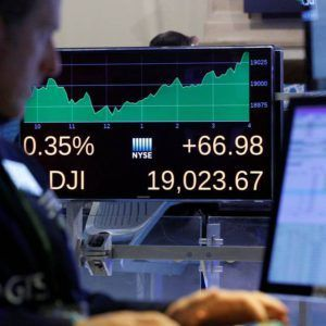 Blue-chip index climbs 1,000-plus points in 12 trading days The Dow Jones Industrial Average closed above 19000 for the first time, extending a stretch of milestones for major U.S. stock indexes. The index of 30 companies flirted with the level off and on Tuesday, trading …