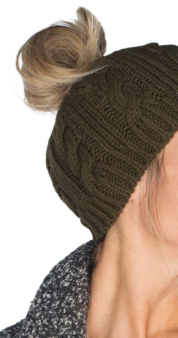 Forget Me Knot Beanie