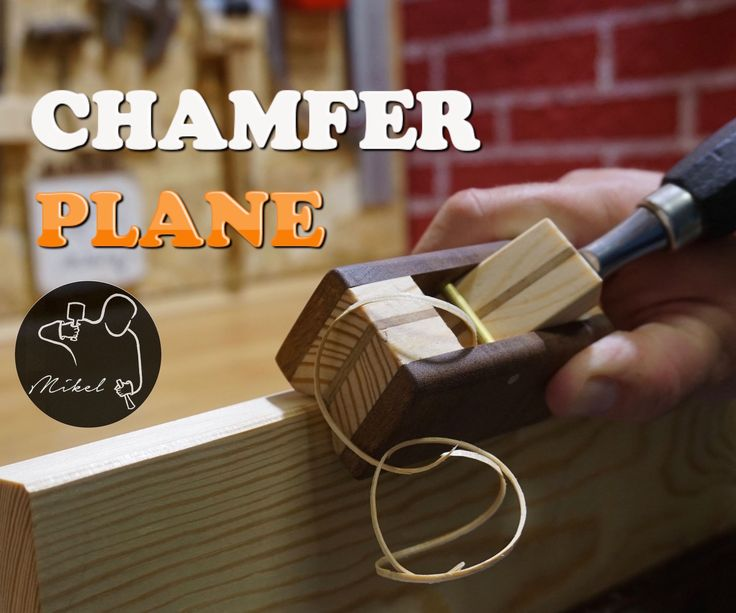 In this Instructable I want to show you how to build your own hand plane but with the particularity that it's made to be used with a chisel. Its utility is to chamfer the corners of the wood.This tool can be made with electric tools, but one again as usual I have decided to make it only 100% with hand tools.If you like the video please Subscribe to my Youtube ChannelI would also apologise for my English as a non-native English speaker some terms are very difficult for me. Forward, inscrut...