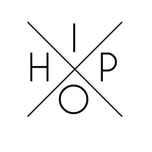 Hip'ster' Hop logo | b*: graphic | Pinterest
