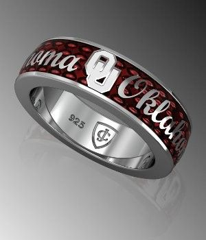 BOOMER! this might make a cute wedding ring for a man who hates to wear jewelry lol