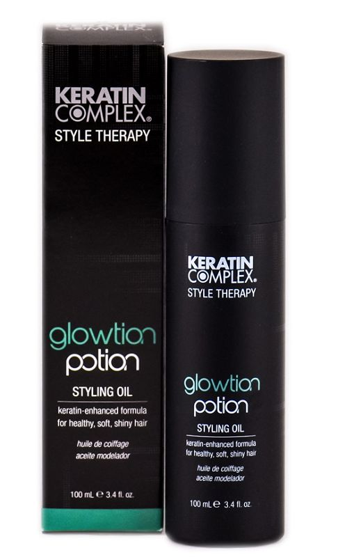Keratin Complex: Style Therapy Glowtion Potion Styling Oil