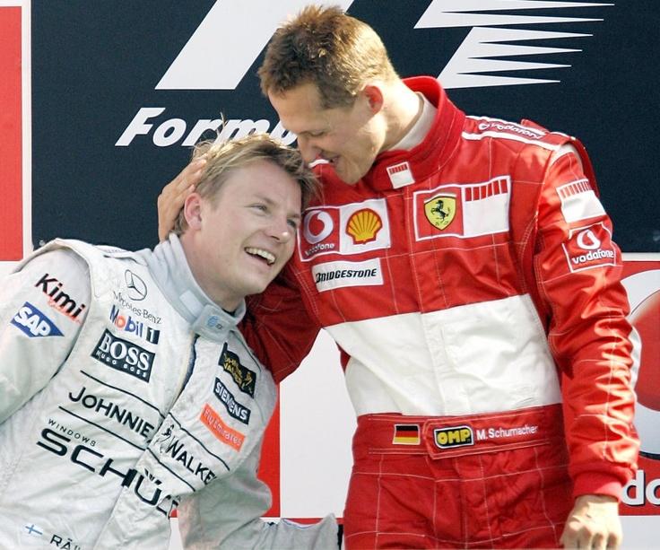 Kimi and Schumi - 2007