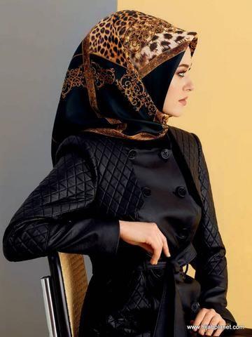 Armine Clair Silk Hijab  - 1