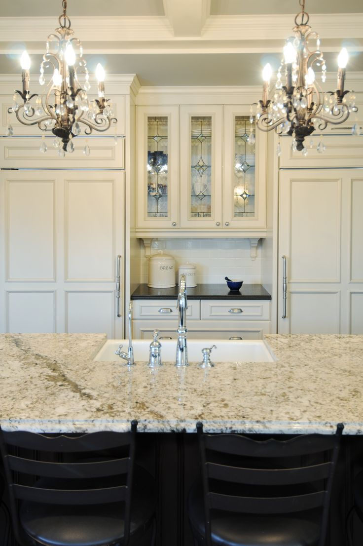 Best 25 leaded glass cabinets ideas on pinterest for White kitchen cabinets with black island