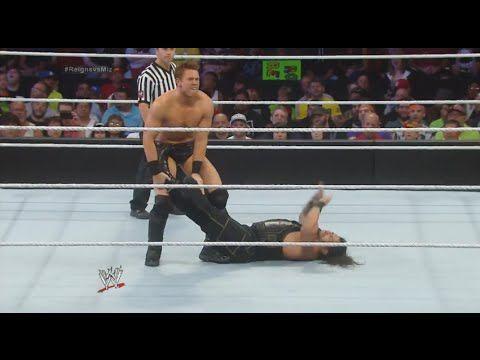 WWE SMACKDOWN August 15 2014 ROMAN REIGNS vs THE MIZ & More! - WWE SMACKDOWN 8/15/14 FULL RESULTS