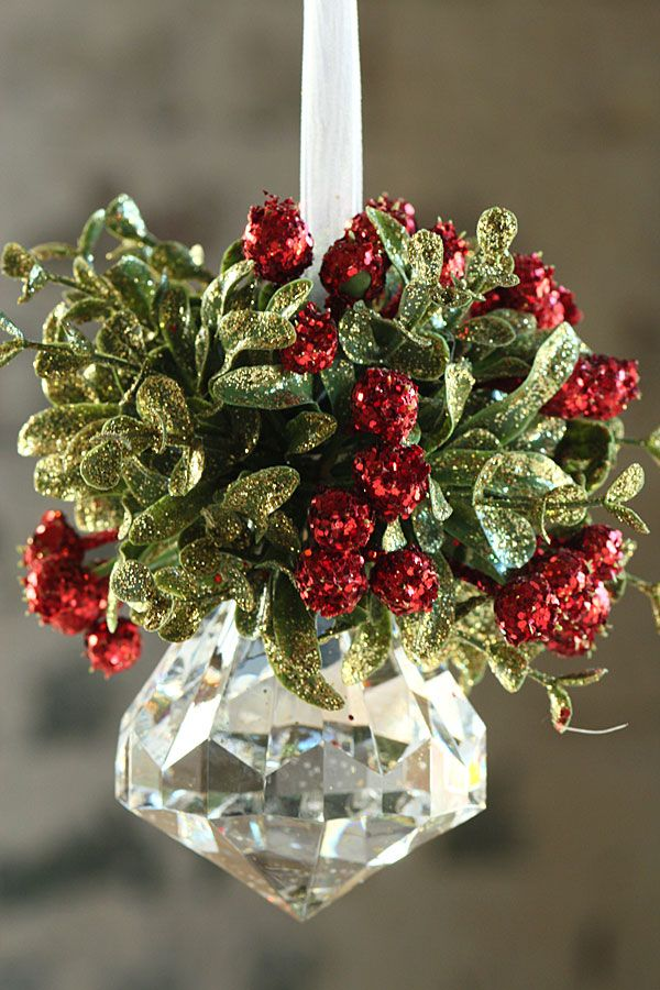 Glass Christmas Garland