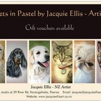 Jacquie Ellis  Gift vouchers available card