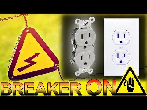 Como cambiar un tomacorriente electrico sin bajar el Breaker - YouTube