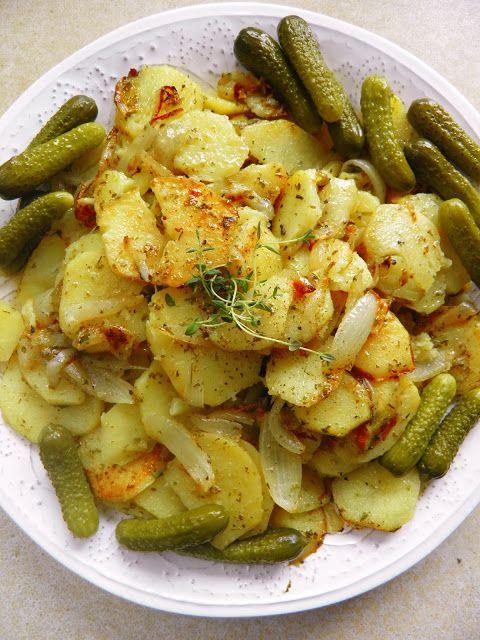 Sio-smutki: Ziemniaki z patelni z cebulą i ziołami
