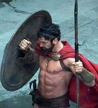 Gerard Butler and the 300 Workout