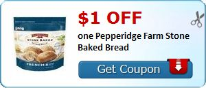 New Coupon!  $1.00 off one Pepperidge Farm Stone Baked Bread - http://www.stacyssavings.com/new-coupon-1-00-off-one-pepperidge-farm-stone-baked-bread/