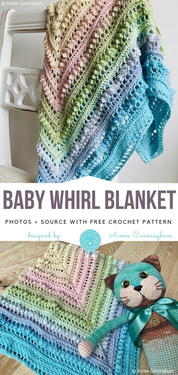 Pastel Rainbow Blankets Free Crochet Patterns Baby Girl Crochet Blanket Crochet Baby Blanket Beginner Crochet Baby Blanket Free Pattern