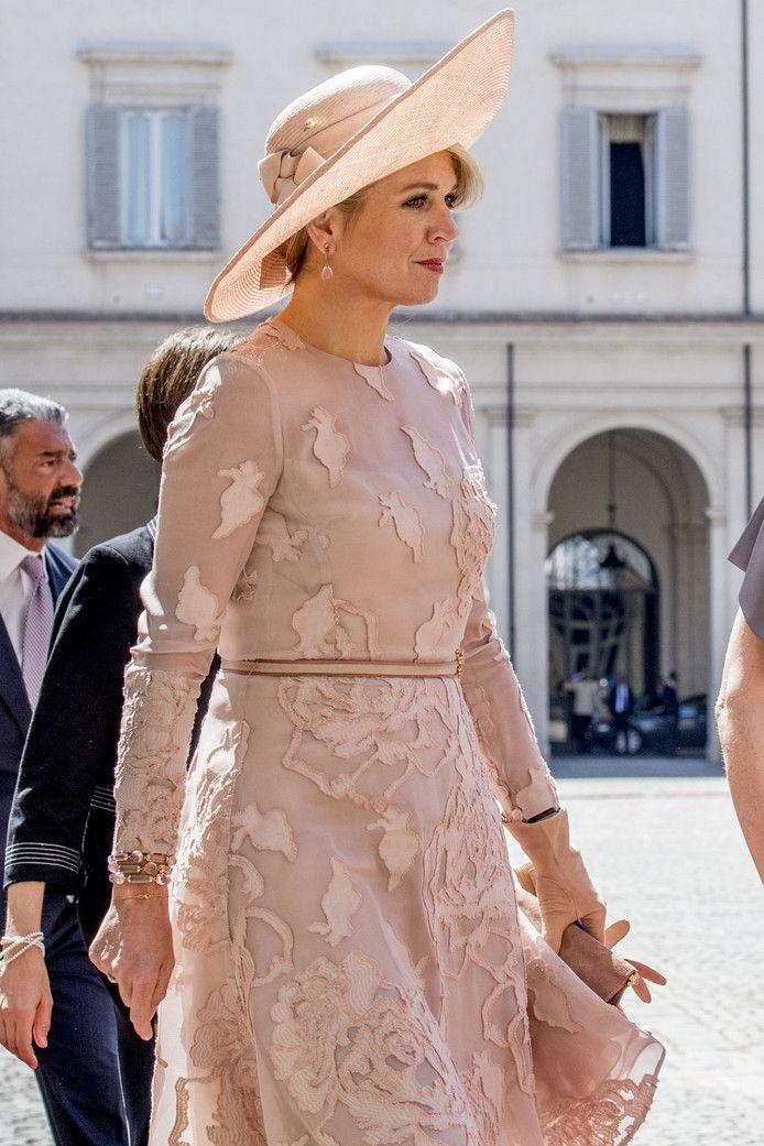 Koningin Maxima, Rome, 20 juni 2017