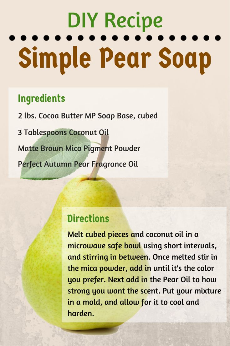 Vegan soap recipes / Canad inn