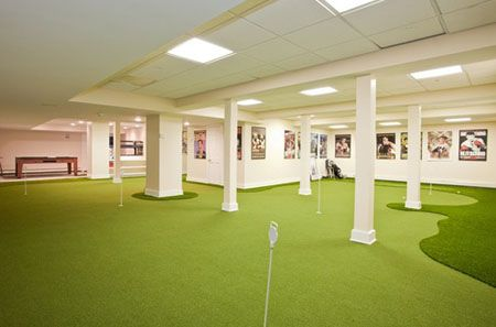 Putting Green Floor