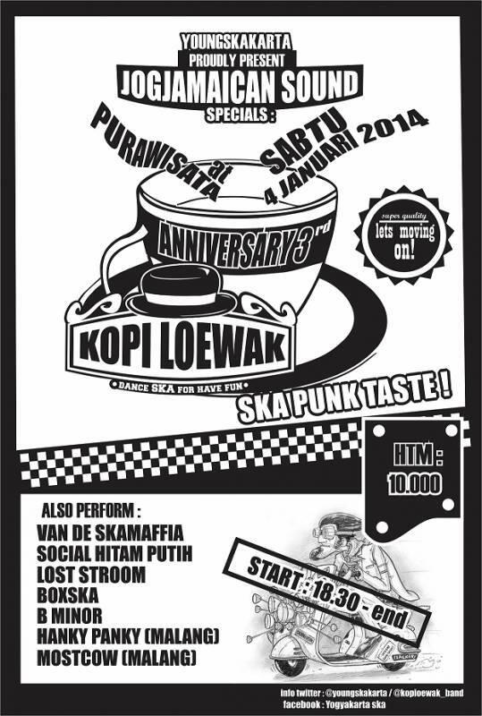 Anniversary 3rd Kopi Loewak